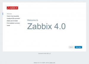 Zabbx Frontend